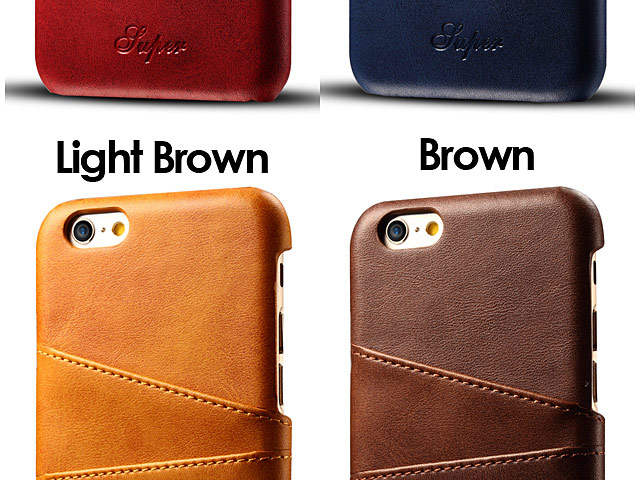 iPhone 6 / 6s Claf PU Leather Case with Card Holder