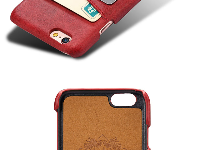 iPhone 6 Plus / 6s Plus Claf PU Leather Case with Card Holder
