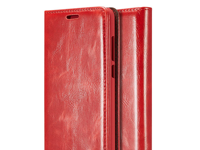 Huawei P20 Pro Magnetic Flip Leather Wallet Case