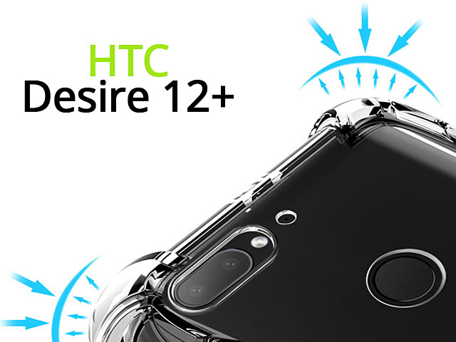 Imak Shockproof TPU Soft Case for HTC Desire 12+