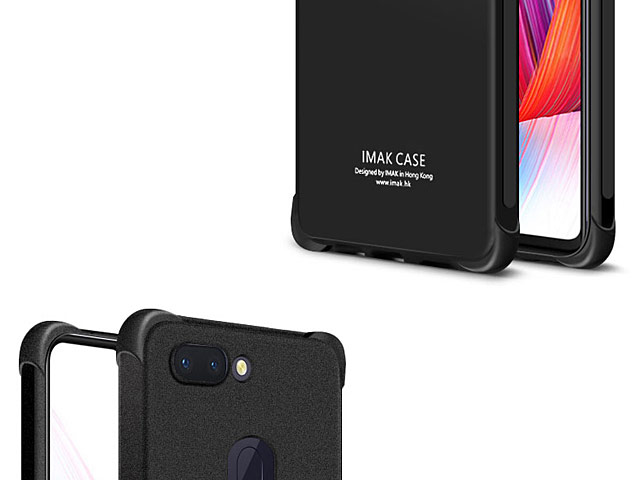 Imak Shockproof TPU Soft Case for OPPO R15