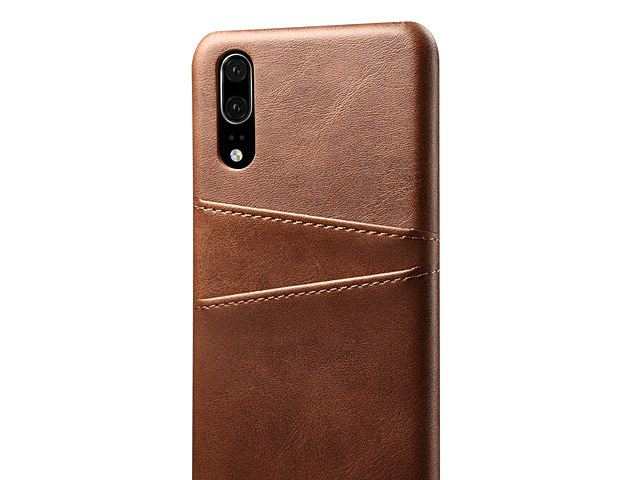Huawei P20 Claf PU Leather Case with Card Holder