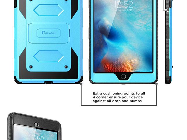 i-Blason Armorbox Full Body Kickstand Case with Screen Protector for iPad mini 4
