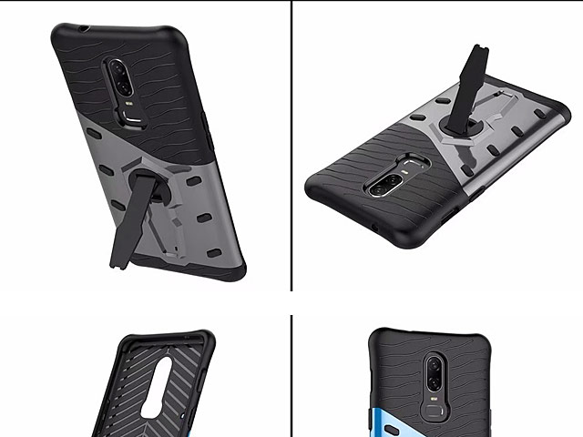 OnePlus 6 Armor Case with Stand