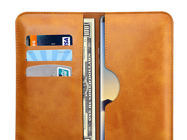 Samsung Galaxy Note8 Leather Sleeve Wallet