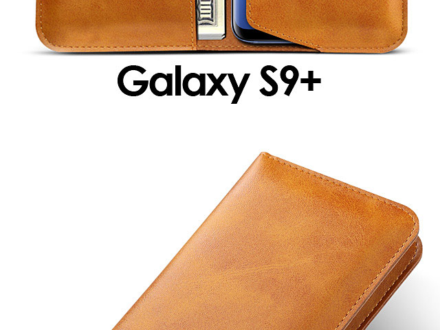 Samsung Galaxy S9+ Leather Sleeve Wallet