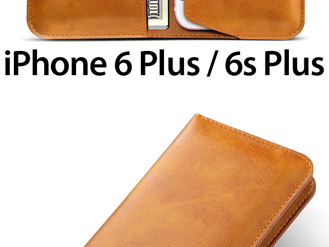 iPhone 6 Plus / 6s Plus Leather Sleeve Wallet