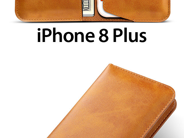 iPhone 8 Plus Leather Sleeve Wallet