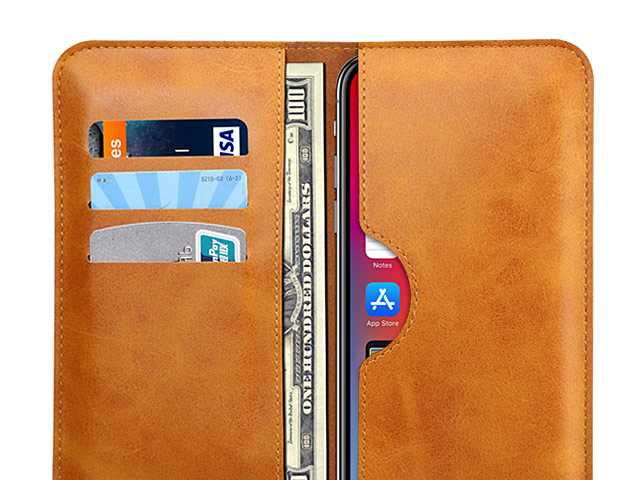 iPhone X Leather Sleeve Wallet