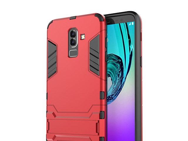 new arrivals a6cd2 78b1c Samsung Galaxy J8 (2018) Iron Armor Plastic Case