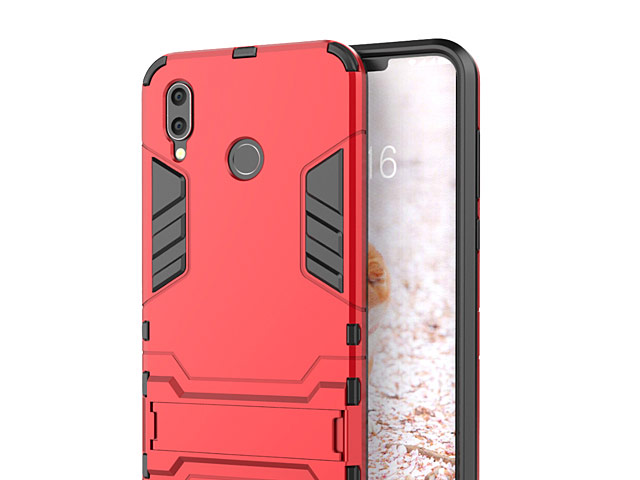 low priced 39cce 5b853 Huawei Honor Play Iron Armor Plastic Case