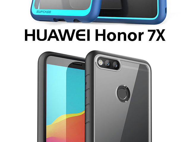 Supcase Unicorn Beetle Hybrid Protective Clear Case for Huawei Honor 7X