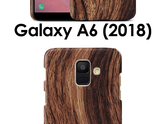 Samsung Galaxy A6 (2018) Woody Patterned Back Case