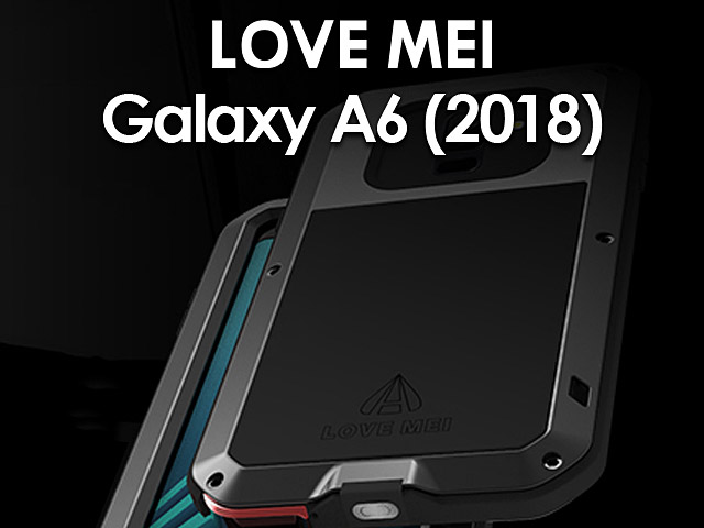 LOVE MEI Samsung Galaxy A6 (2018) Powerful Bumper Case