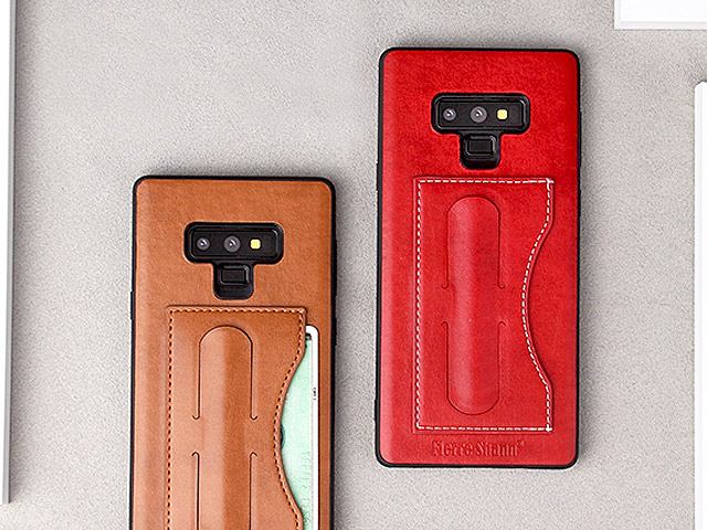 Samsung Galaxy Note9 PU Leather Case with One Touch Stand