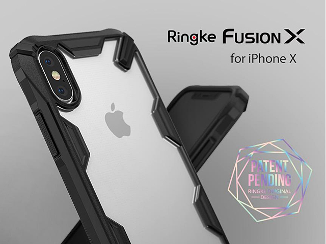 size 40 e8dd4 0d1b9 Ringke Fusion-X Case for iPhone X