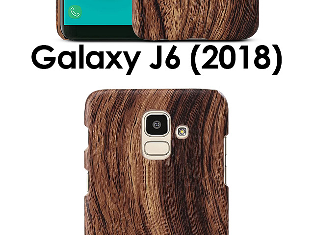 Samsung Galaxy J6 (2018) Woody Patterned Back Case