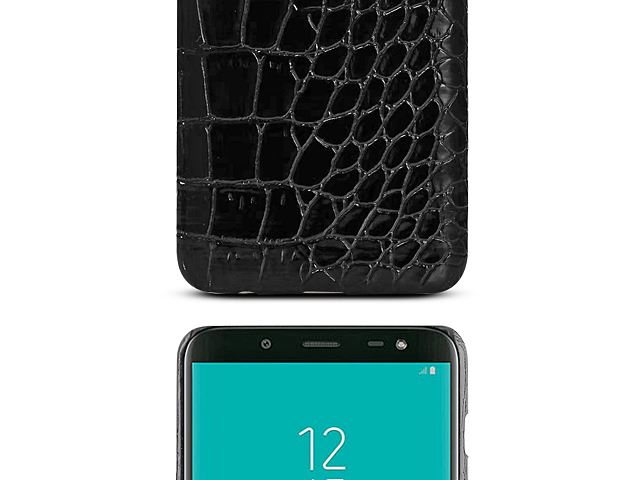 Samsung Galaxy J6 (2018) Crocodile Leather Back Case