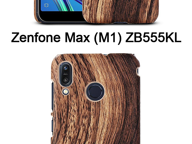Asus Zenfone Max (M1) ZB555KL Woody Patterned Back Case