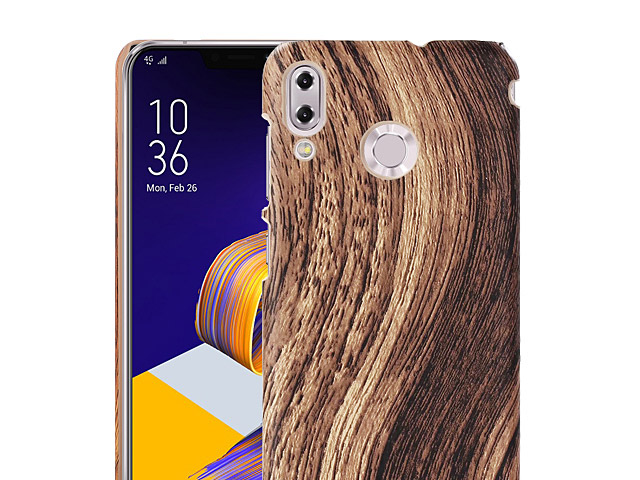 Asus Zenfone 5 ZE620KL Woody Patterned Back Case