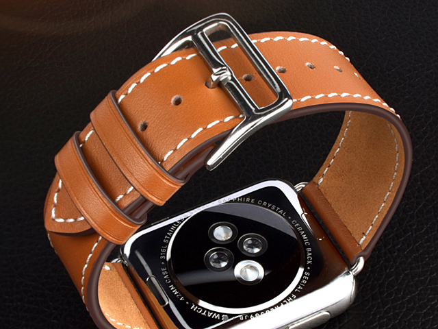 Apple Watch 4 Leather Watch Band