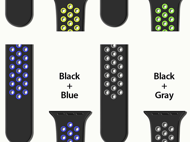 Apple Watch 4 (44mm) Sport Silicone Watch Band