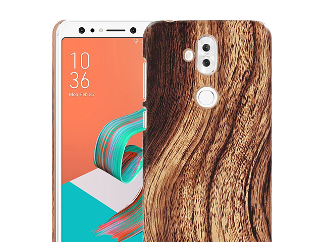 Asus Zenfone 5 Lite ZC600KL Woody Patterned Back Case