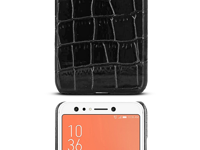 Asus Zenfone 5 Lite ZC600KL Crocodile Leather Back Case