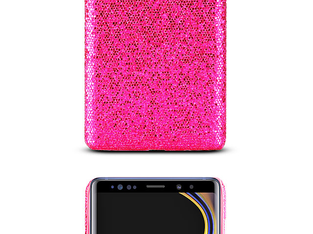 Samsung Galaxy Note9 Glitter Plastic Hard Case