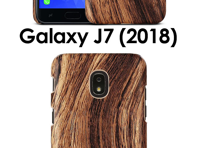 Samsung Galaxy J7 (2018) Woody Patterned Back Case