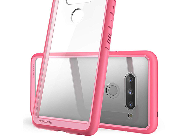 Supcase Unicorn Beetle Hybrid Protective Clear Case for LG V40 ThinQ