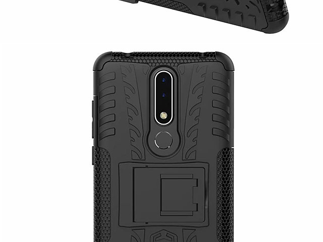 Nokia 3.1 Plus Hyun Case with Stand