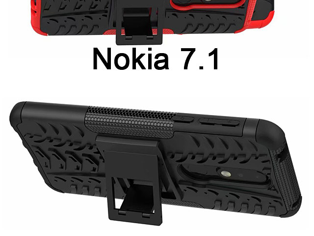 Nokia 7.1 Hyun Case with Stand