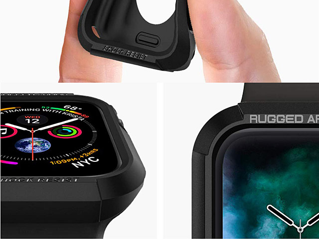Spigen Rugged Armor Case for Apple Watch 4 (44mm)