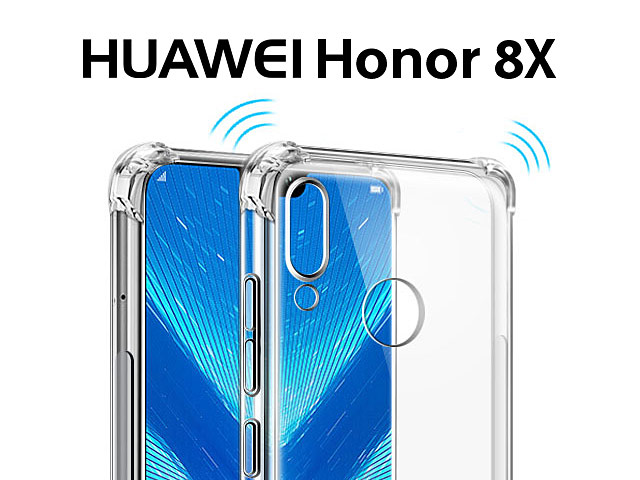 Imak Shockproof TPU Soft Case for Huawei Honor 8X