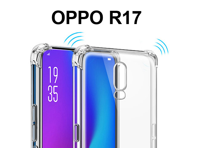 Imak Shockproof TPU Soft Case for OPPO R17