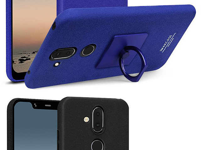 Imak Marble Pattern Back Case for Nokia 7.1 Plus (Nokia X7)