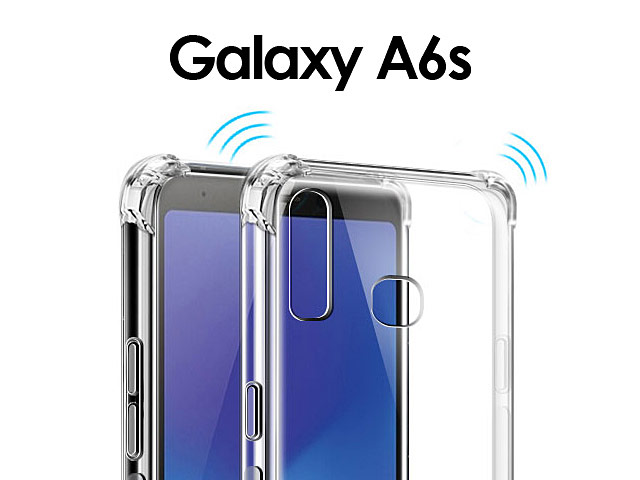 Imak Shockproof TPU Soft Case for Samsung Galaxy A6s