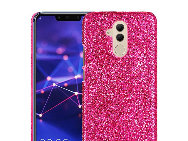 Huawei Mate 20 Lite Glitter Plastic Hard Case