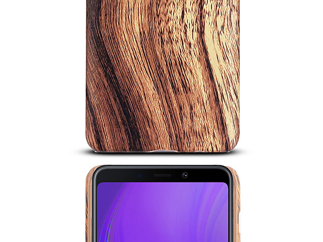 Samsung Galaxy A9 (2018) Woody Patterned Back Case