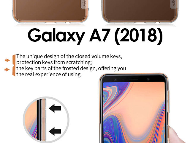 NILLKIN Nature TPU Case for Samsung Galaxy A7 (2018)