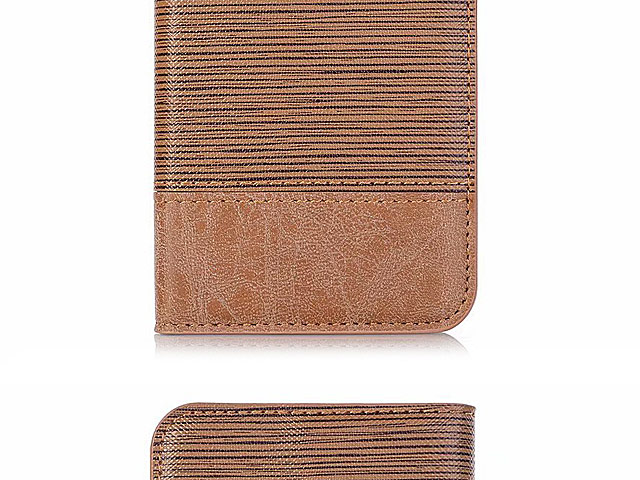 Samsung Galaxy S10e Two-Tone Leather Flip Case