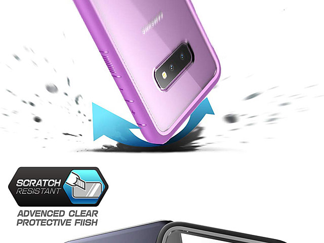 Supcase Unicorn Beetle Clear Bumper Case for Samsung Galaxy S10e