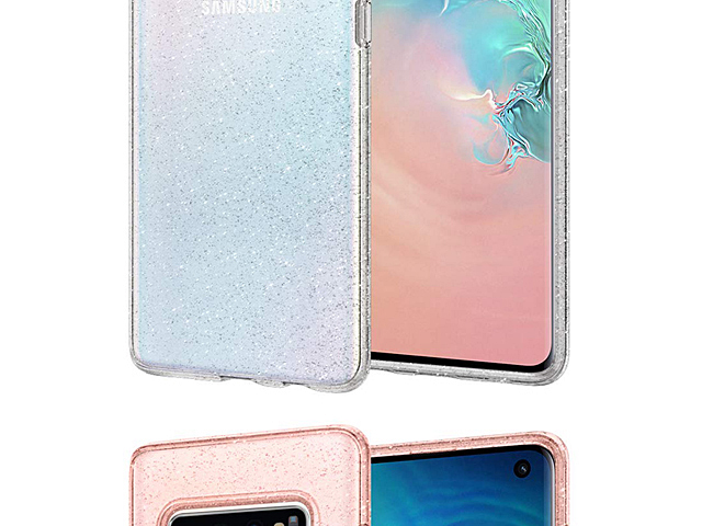 Spigen Liquid Crystal Glitter Soft Case for Samsung Galaxy S10