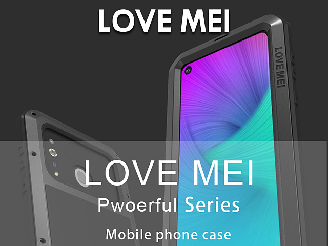 LOVE MEI Samsung Galaxy A8s Powerful Bumper Case