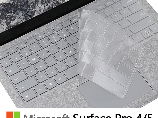 Keyboard Cover for Microsoft Surface Pro 4/5