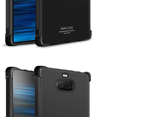 Imak Shockproof TPU Soft Case for Sony Xperia 10 Plus