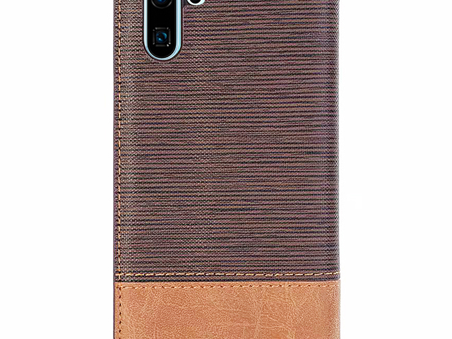 Huawei P30 Pro Two-Tone Leather Flip Case