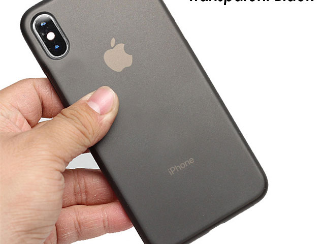 iPhone XS (5.8) 0.3mm Ultra-Thin Back Hard Case