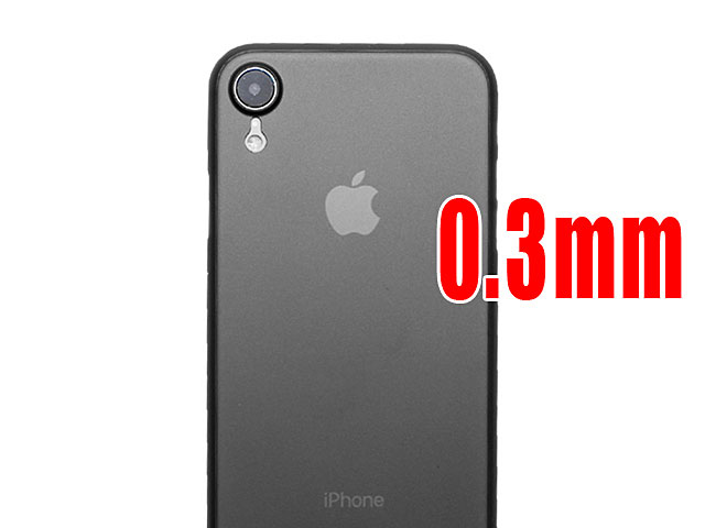 iPhone XR (6.1) 0.3mm Ultra-Thin Back Hard Case